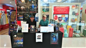 Another photo of Booksigning Dymocks 17.11.2018