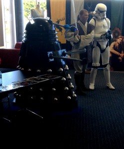Star wars and Darlek small